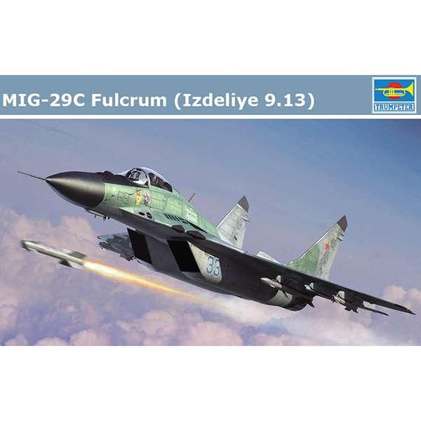 trumpeter 01675 MIG-29C Fulcrum Izdeliye 9.13