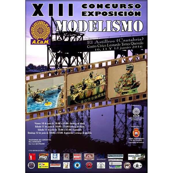 XIII Concurso Exposición de Modelismo ACaM 2016