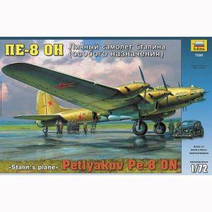 zvezda 7280 Petlyakov Pe-8ОN -Stalin's Plane-