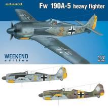 eduard 7436 Focke Wulf Fw190A-5 Heavy Fighter