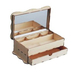 artesania latina junior 30206 Joyero con cajón