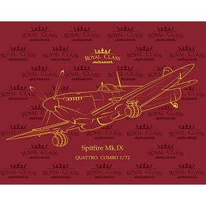 eduard r0013 Spitfire Mk. IX QUATTRO COMBO