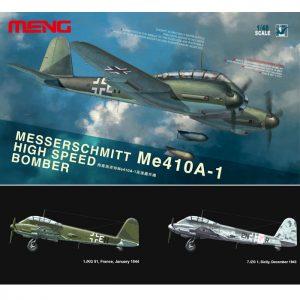 meng models ls-003 MESSERSCHMITT Me410A-1 HIGH SPEED BOMBER