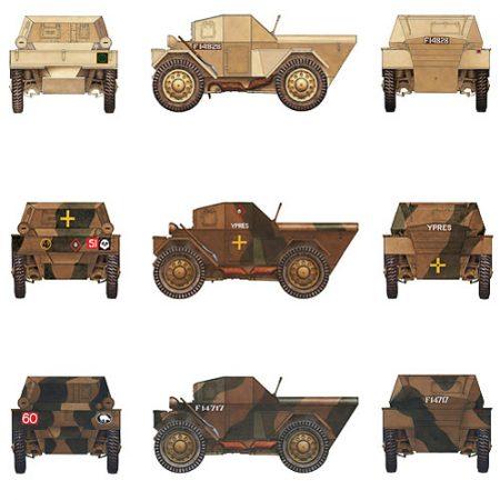 miniart 35087 Scout Car Dingo Mk.1a con tripulación
