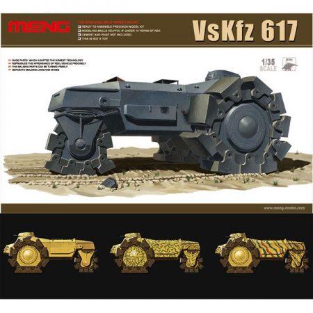 meng model ss-001 GERMAN VsKfz 617 MINENRAUMER
