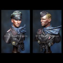 alpine miniatures b001 Officer 116 Pz Div Windhund 1/16