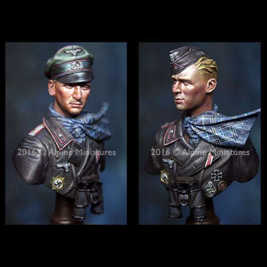 alpine miniatures b001 Officer 116 Pz Div Windhund 1/16