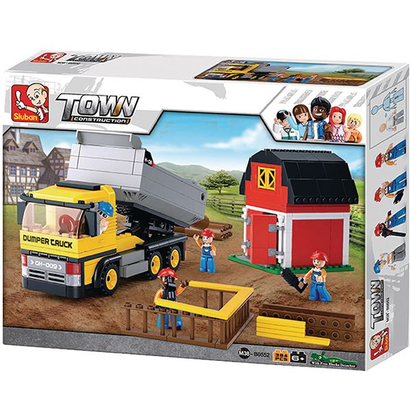 sluban m38 b0552 Sluban Dump Truck