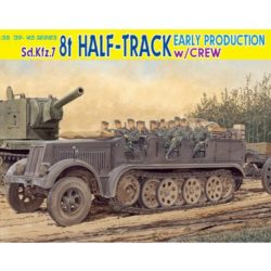 dragon 6545 Sd.Kfz.7 8t Half Track Early Production