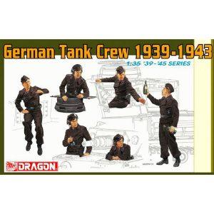 dragon 6375 German Tank Crew 1939-1943