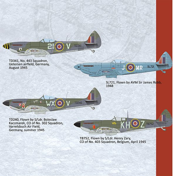 eduard 2117 Spitfire Mk. XVI Dual Combo