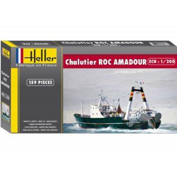 heller 80608 Chalutier Roc Amadour 1/200