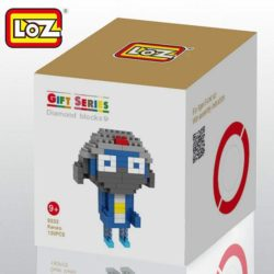 Loz 9332 diamond blocks Keroro 130pcs