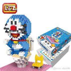Loz 9806 Doraemon en el Water 340pcs