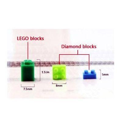 loz diamond blocks vs lego blocks