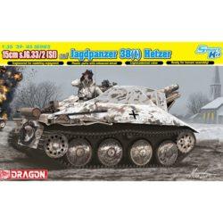 dragon 6489 15cm s.IG.33/2(Sf) auf Jagdpanzer 38(t) Hetzer Kit en plástico para montar y pintar.