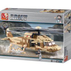 sluban b0509 Sluban B0509 Utility Helicopter Juego de construcción por bloques de plástico compatibles con Lego y otras marcas.