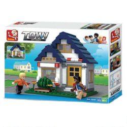 Sluban B0569 Oliver's Fitness Juego de construcción por bloques de plástico compatibles con Lego y otras marcas