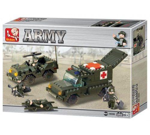 Sluban B6000 Army Ambulance and Jeep compatibles con Lego Una forma fácil y divertida de favorecer el desarrollo e imaginación