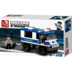 sluban m38-b0273 Sluban B0273 Prisoner Transporterer Juego de construcción por bloques de plástico compatibles con Lego y otras marcas