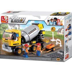 sluban m38 b0550 Sluban B0550 Cement Mixer Juego de construcción por bloques de plástico compatibles con Lego y otras marcas.