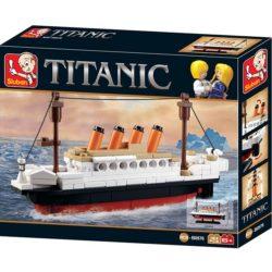 sluban m38 b0576 Sluban B0576 Titanic Small Juego de construcción por bloques de plástico compatibles con Lego y otras marcas.