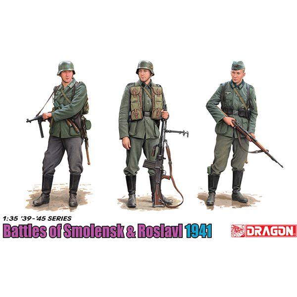 dragon 6791 Battle Of Smolensk & Roslavl 1941