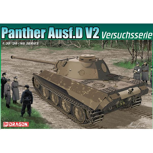 dragon 6830 Panther Ausf.D V2 Versuchsserie