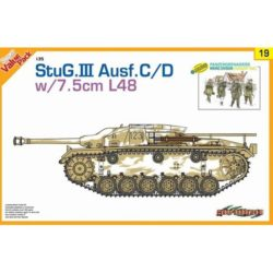 dragon 9119 StuG.III Ausf.C/D w/7.5cm L48 With bonus German figure set