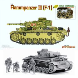 dragon 9113 Flammpanzer III (F-1) and German Sturmpionier Kursk 1943