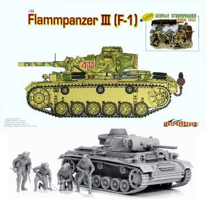 dragon 9113 Flammpanzer III (F-1) and German Sturmpionier Kursk 1943