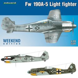 eduard 7439 Focke Wulf Fw 190A-5 Light Fighter 2 cannons Weekend Edition 1/72