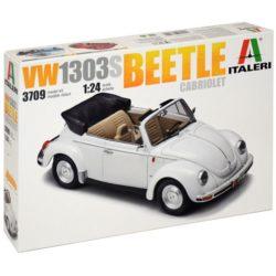 italeri 3709 Volkswagen VW1303S Beetle Cabriolet Kit en plástico para montar y pintar.