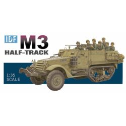dragon 3569 IDF M3 Half-Track modificado y utilizado por el ejército israeli durante la Guerra de los Seis Días.