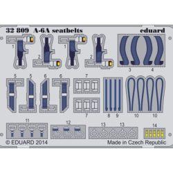 eduard 32809 Seatbelts A-6A Intruder 1/32 Cinturones de seguridad en fotograbado coloreado para el A-6A Intruder