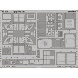 eduard 48908 Bell X-1 Upgrade set (Eduard) 1/48 Piezas en fotograbado para superdetallar la maqueta indicada. Escala 1/48