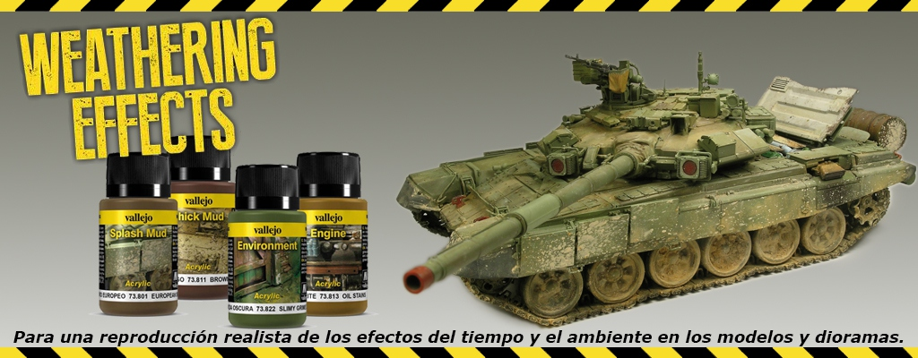 acrylicos vallejo Weathering Effects