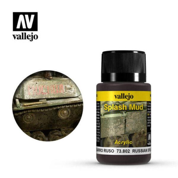 acrylicos vallejo 73802 Salpicaduras Barro Ruso 40ml