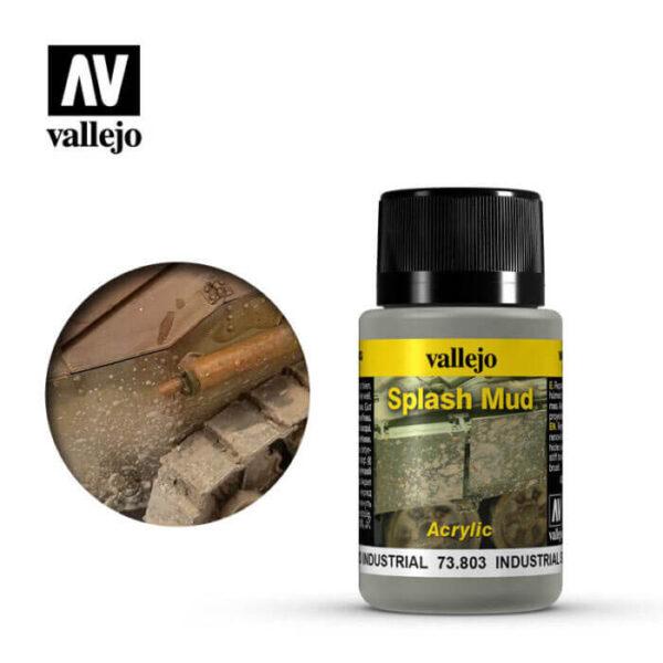 acrylicos vallejo 73803 Salpicaduras Barro Industrial 40ml