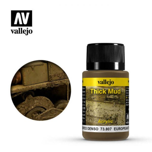 acrylicos vallejo 73807 Barro Europeo 40ml