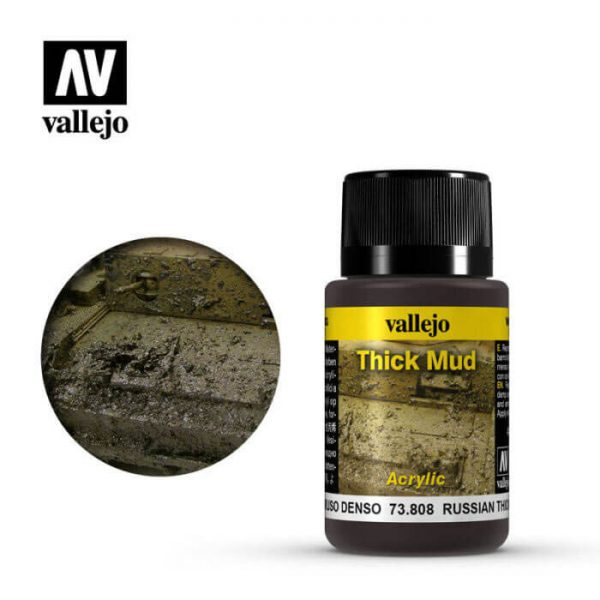 acrylicos vallejo 73808 Barro Ruso 40ml