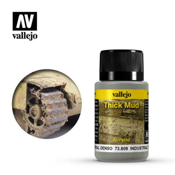 acrylicos vallejo 73809 Barro Industrial 40ml