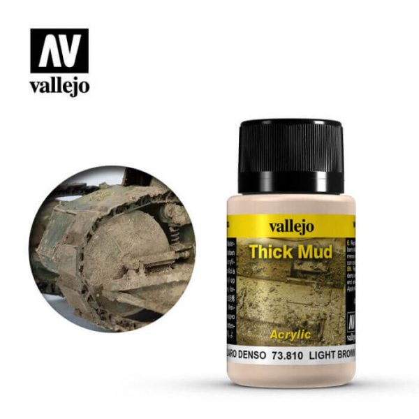 acrylicos vallejo 73810 Barro Marrón Claro 40ml