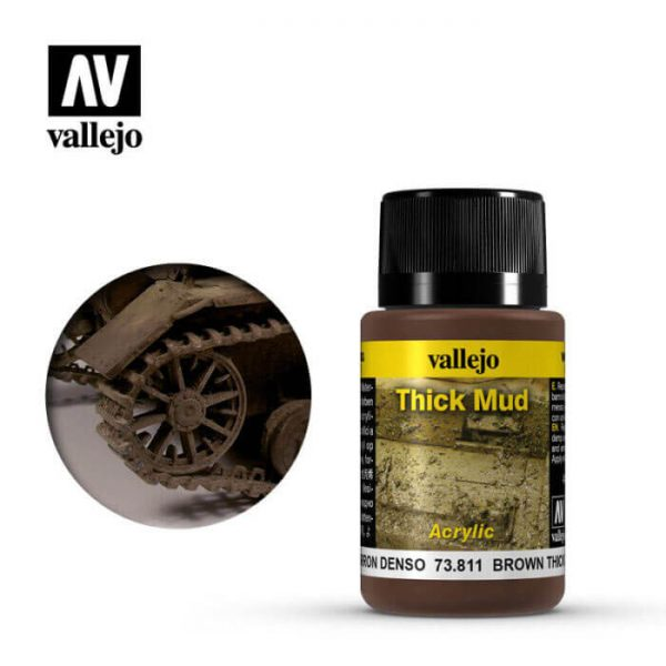 acrylicos vallejo 73811 Barro Marrón 40ml