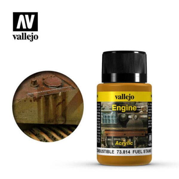 acrylicos vallejo 73814 Manchas de Combustible 40ml
