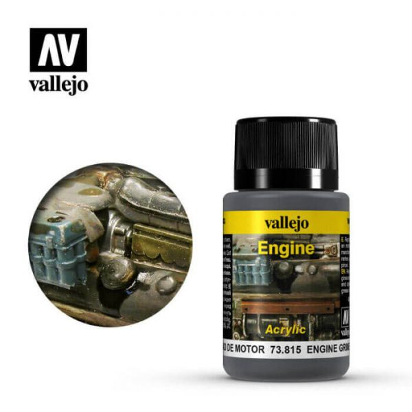 acrylicos vallejo 73815 Suciedad de Motor 40ml