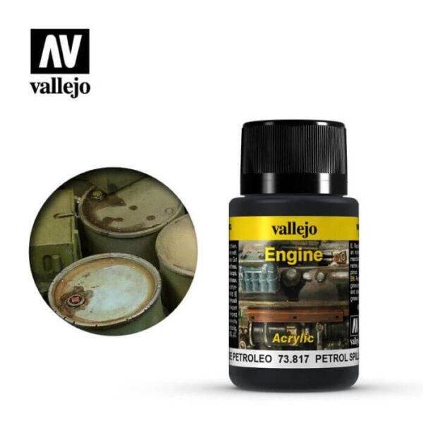acrylicos vallejo 73817 Salpicaduras de Petróleo 40ml