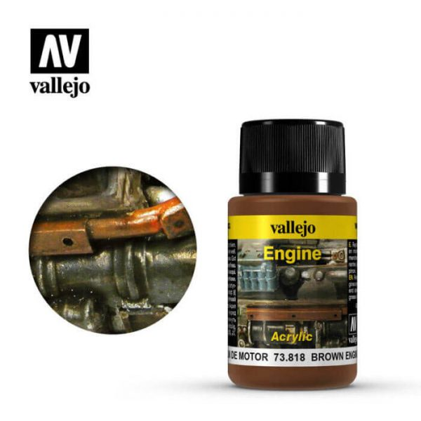 acrylicos vallejo 73818 Hollín de Motor 40ml