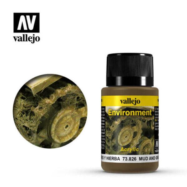 acrylicos vallejo 73826 Efectos de Barro y Hierba 40ml