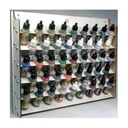 acrylicos vallejo 26010 AV Expositor de pared para frascos de 17 ml. La solución perfecta para organizar los colores de Vallejo.